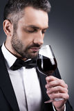 Perfect wine. Stock Images