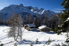 Perfect winter landscape Royalty Free Stock Photo