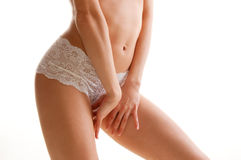 Perfect woman body Stock Images