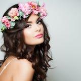 Perfect Woman Fashion Model Stock Photo