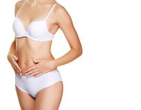 Perfect woman's body Royalty Free Stock Photo