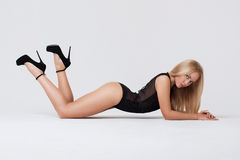 Perfect womans body Royalty Free Stock Image