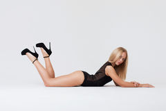 Perfect womans body Royalty Free Stock Photo