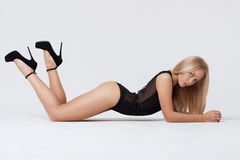 Perfect womans body Royalty Free Stock Photos