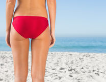 Perfect womans buttocks Stock Image