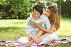 Perfect young couple Stock Photography