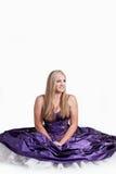 Perfectamente púrpura Foto de archivo libre de regalías