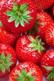perfecte aardbeien. Royalty-vrije Stock Afbeelding