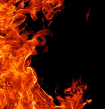 Perfecte brandachtergrond stock fotografie