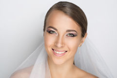 Perfecte bruid stock fotografie