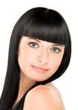 Perfecte brunette stock afbeelding