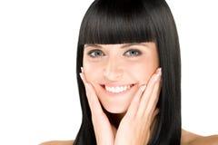 Perfecte brunette Royalty-vrije Stock Foto's