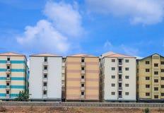 Perfecte flatgebouwen Royalty-vrije Stock Afbeelding