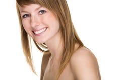Perfecte glimlach Stock Fotografie
