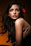 Perfecte huid royalty-vrije stock fotografie