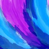 Perfecte kleurrijke waterverfachtergrond Abstracte textuur vector illustratie