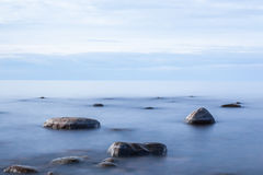 Perfecte plaats voor meditatie in eenzaamheid Royalty-vrije Stock Foto