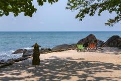 Perfecte terugtocht voor ontspanning op het Koh Chang-eiland royalty-vrije stock afbeeldingen