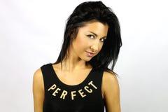 Perfecte vrouw Royalty-vrije Stock Fotografie
