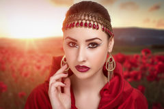 Perfecte vrouw Royalty-vrije Stock Foto's