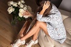 Perfecte vrouwelijke benen Royalty-vrije Stock Foto
