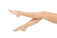 Perfecte vrouwelijke benen Stock Afbeeldingen