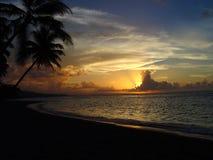 Perfectie 1 van de zonsondergang Royalty-vrije Stock Afbeelding
