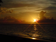 Perfection 2 de coucher du soleil images libres de droits