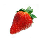 Perfection. Perfect strawberry isolated on white Royalty Free Stock Photography