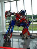 Perfection d'Optimus le transformateur photos stock