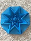 Perfection dans une étoile d'origami Photographie stock