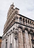 Perfection. Medieval city of lucca, italy stock photography