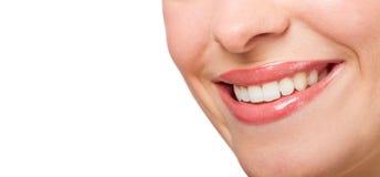 Perfectionnez le sourire Image stock