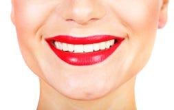 Perfectionnez le sourire Image libre de droits