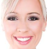 Perfectionnez le sourire Images libres de droits
