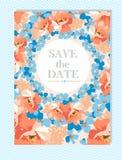 Perfectionnez pour épouser des invitations et des conceptions d'anniversaire Photo libre de droits