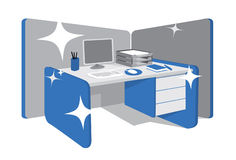 Perfectly organized workstation Stock Photography