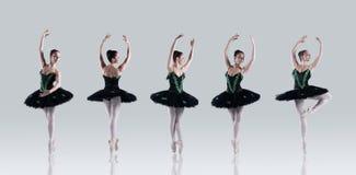 Perfeição do bailado fotografia de stock royalty free