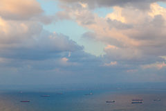 Perfekt cloudscape Royaltyfria Bilder
