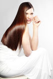 perfekt hår Royaltyfri Bild