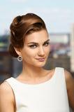 Perfekt hår Royaltyfria Bilder