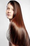 perfekt hår Arkivfoton