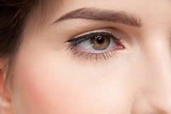 perfekt hudkvinna för skönhet Arkivfoto