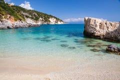 Perfekt inget strand Royaltyfria Bilder