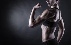 Perfekt kvinnlig kropp Royaltyfri Fotografi