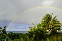 perfekt regnbåge Royaltyfria Foton