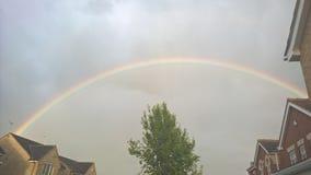 perfekt regnbåge Royaltyfri Foto