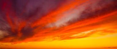 perfekt sky Royaltyfri Fotografi