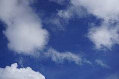 perfekt sky Arkivbilder