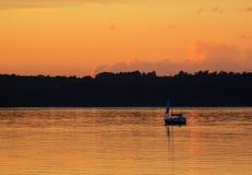 perfekt solnedgång Royaltyfri Fotografi